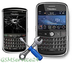 black berry сервиз